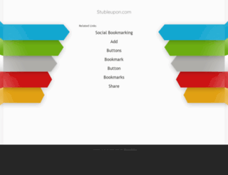 stubleupon.com screenshot