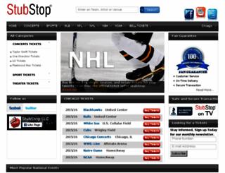 stubstop.com screenshot