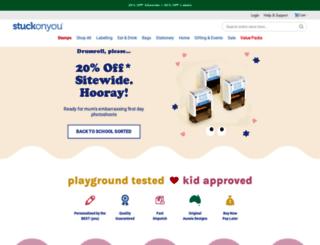 stuckonyou.co.uk screenshot