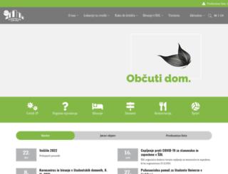 stud-dom-lj.si screenshot
