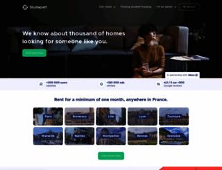 studapart.com screenshot