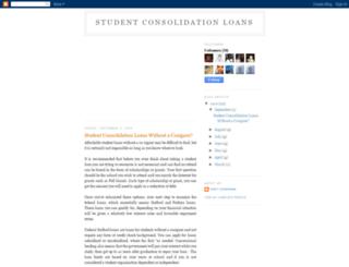 student-consolidation-tips.blogspot.com screenshot