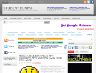 student-duniyaa.blogspot.com screenshot