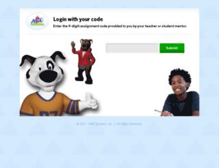 student.abesystems.com screenshot