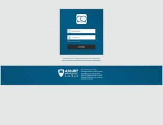 student.asburyseminary.edu screenshot