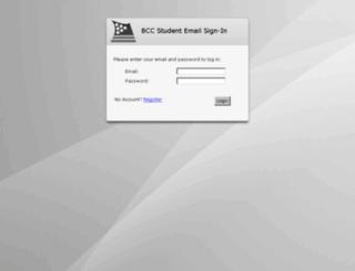 student.bfcc.edu screenshot