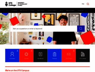 student.insearch.edu.au screenshot