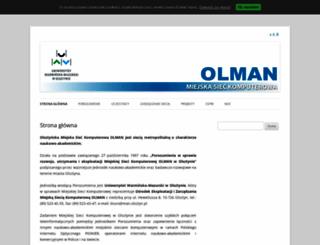 student.man.olsztyn.pl screenshot