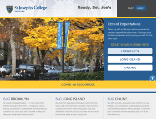 student.sjcny.edu screenshot