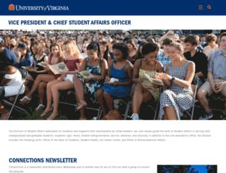 student.virginia.edu screenshot