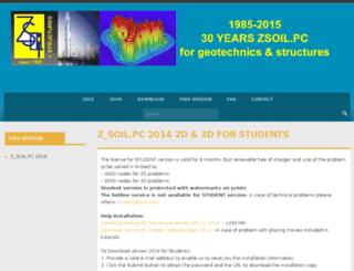 student.zsoil.com screenshot