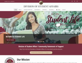 studentaffairs.fsu.edu screenshot