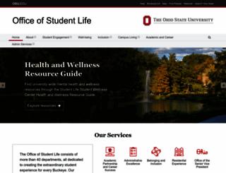 studentaffairs.osu.edu screenshot