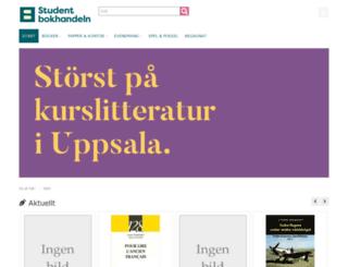 studentbokhandeln.se screenshot