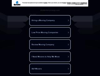 studentenumzug.com screenshot