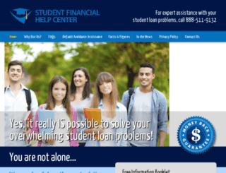 studentfinancialhelpcenter.com screenshot