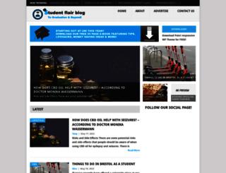 studentflairblog.com screenshot
