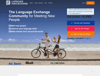studentforexchange.com screenshot