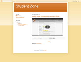 studentfunzone.blogspot.com screenshot