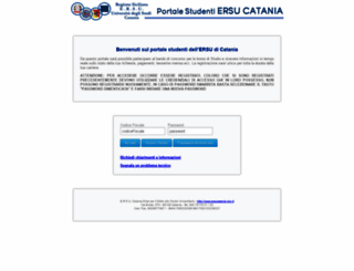 studenti.ersucatania.it screenshot