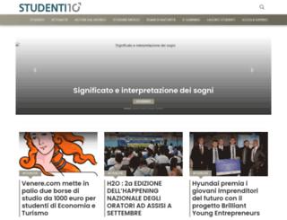 studenti10.it screenshot