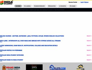 studentindia.com screenshot