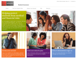 studentinsurance.wellsfargo.com screenshot