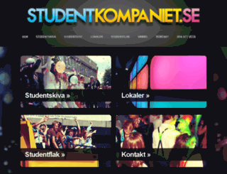 studentkompaniet.se screenshot