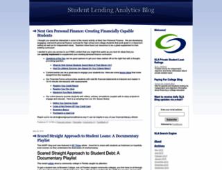studentlendinganalytics.typepad.com screenshot