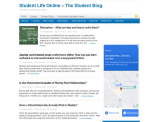 studentlifeonline.org screenshot