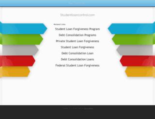 studentloancontrol.com screenshot