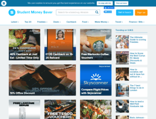 studentmoneysaver.co.uk screenshot