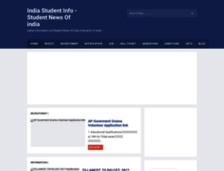 studentnewsindia.blogspot.com screenshot