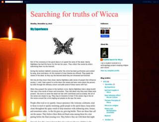 studentofwiccatraditions.blogspot.com.au screenshot