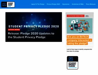 studentprivacypledge.org screenshot