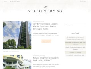 studentry.sg screenshot