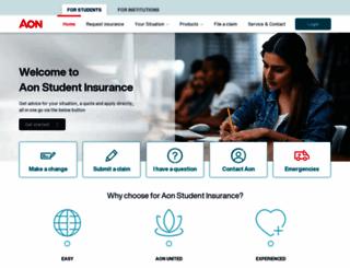 students-insurance.eu screenshot