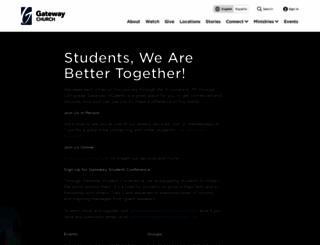 students.gatewaypeople.com screenshot