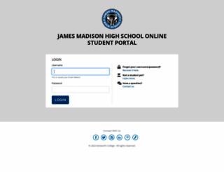 students.jmhs.com screenshot