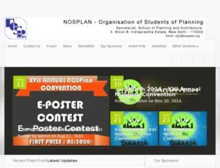 students.nosplan.org screenshot