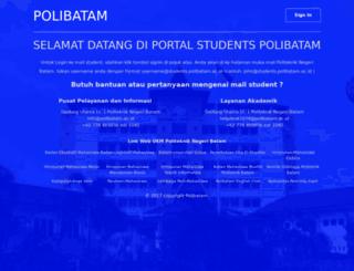students.polibatam.ac.id screenshot