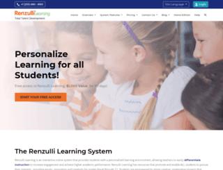 students.renzullilearning.com screenshot