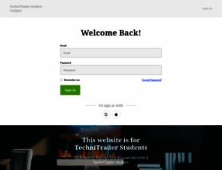students.technitrader.com screenshot