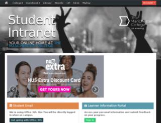 students.themanchestercollege.ac.uk screenshot