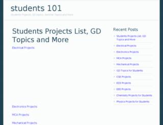 students101.in screenshot