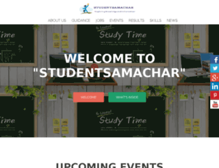 studentsamachar.com screenshot