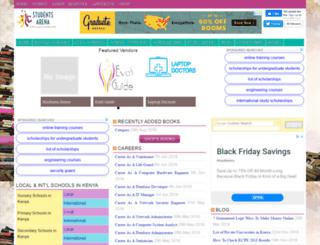 studentsarena.com screenshot
