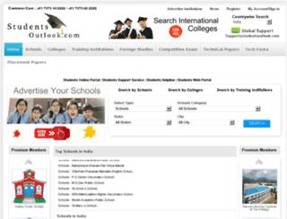 studentsoutlook.com screenshot