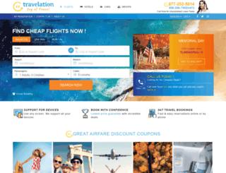 studentuniverse.travelation.com screenshot