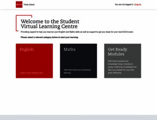 studentvirtuallearn.accaglobal.com screenshot